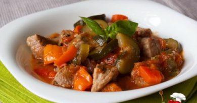 Рагу с бараниной и овощами