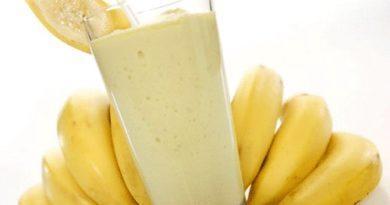 Молочный коктейль с бананом без мороженного