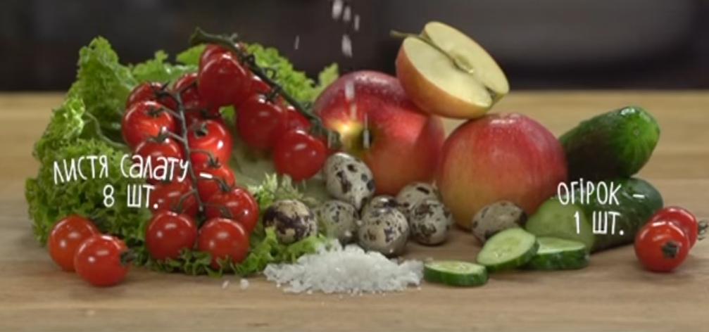 Ингредиенты на салат Фаттуш