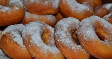 Пончики в духовке рецепт приготовления