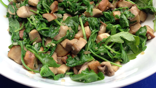 salat_iz_gribov_vegetarianskiy