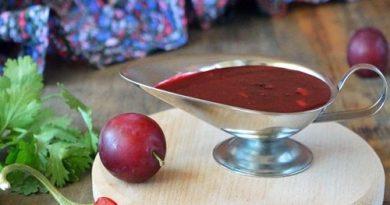 Соус ткемали из алычи рецепт приготовления пошагово с фото