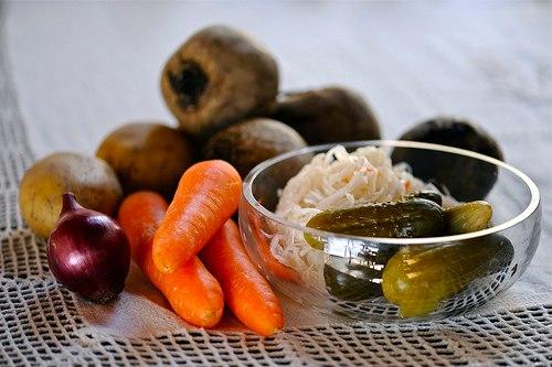 Овощи для венигрета