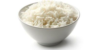 Рис приготовленный на пару