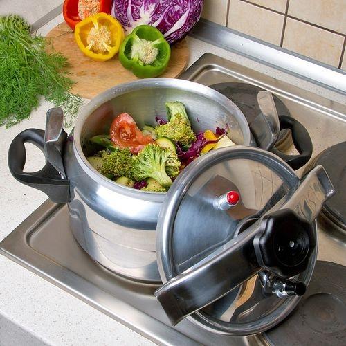 Овощи готовим в скороварке