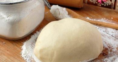 Тесто для вареников и пельменей