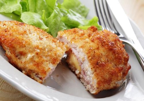 Кордон блё из телятины с сыром