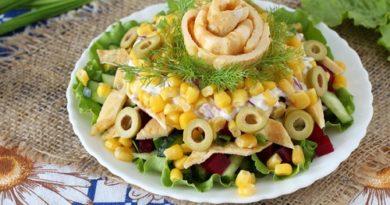 Салат картофельный с зеленым горошком рецепт с фото