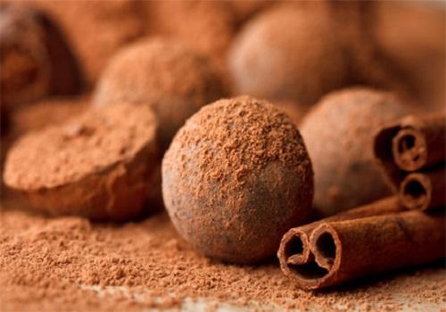Шоколадный трюфель конфеты