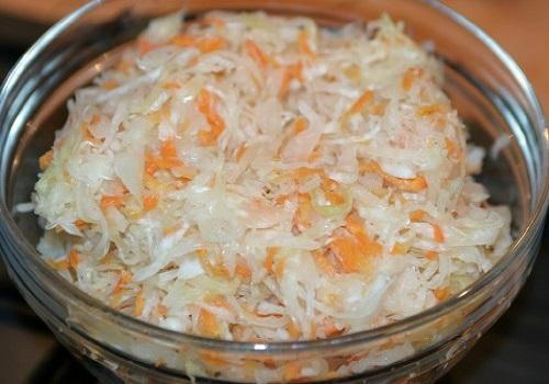 Капуста квашеная в маринаде рецепт