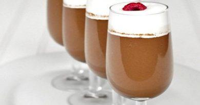 Шоколадно-сливочный десерт