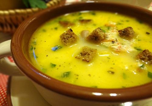 Суп с фасолью и мясным фаршем