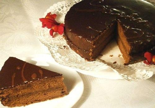 Торт Захер шоколадный