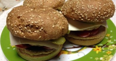 Чикенбургер по-домашнему