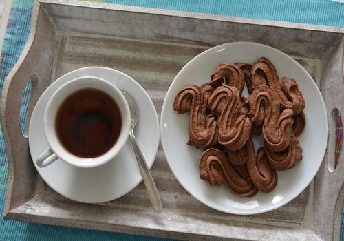 Шоколадное печенье рассыпчатое