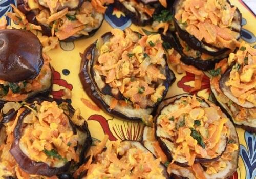 Баклажаны жареные с морковью и луком рецепт с фото пошагово