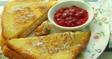 Горячий бутерброд Монте-Кристо