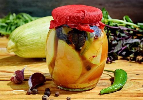 Острые маринованные кабачки на зиму рецепты с фото пошагово