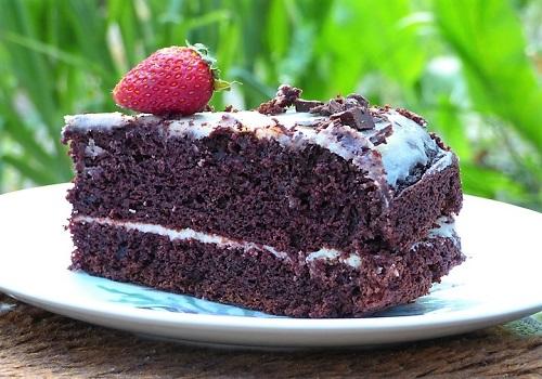 Быстрый шоколадный торт