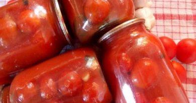 Консервированные помидоры в собственном соку без уксуса