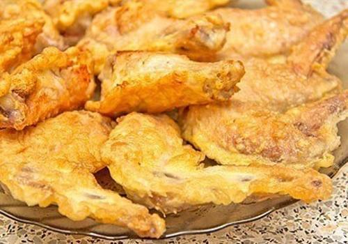 Куриные крылышки в кляре