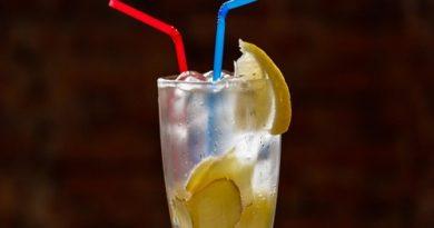 Лимонад с лимоном и имбирем