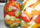 Овощное ассорти на зиму на 3х литровую банку