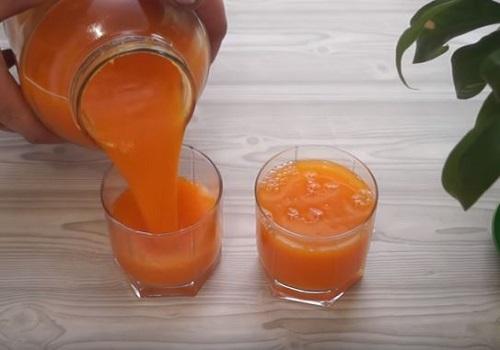 Тыквенный сок-пюре на зиму