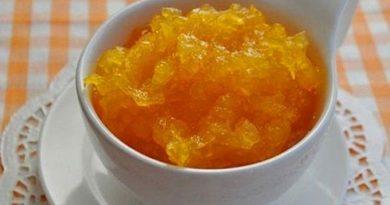 Варенье из тыквы с апельсинами и имбирём