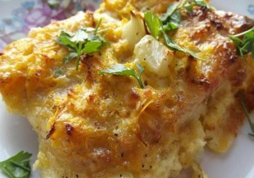 Филе пангасиуса с картофелем в духовке