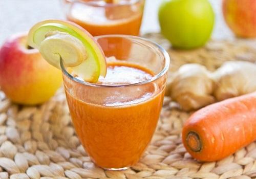 Яблочно-морковный сок в домашних условиях через соковыжималку на зиму