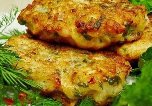 Куриные котлеты по-французски с сыром