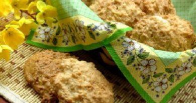 Печенье белковое с кокосом