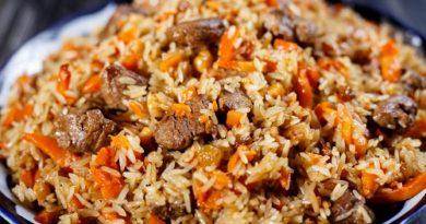 Плов рассыпчатый с мясом - 6 идеальных рецептов приготовления