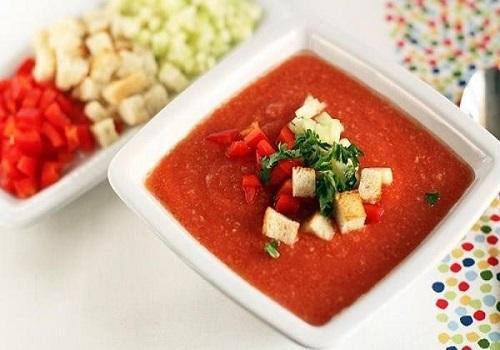 Классический гаспачо холодный томатный суп