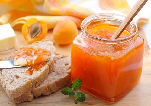 Абрикосовый джем с апельсином