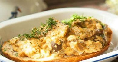 Баклажаны как грибы жареные со сметаной