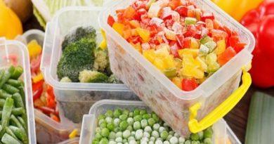 Как правильно замораживать овощи, фрукты и ягоды