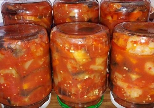 Салат из баклажанов десятка на зиму с морковью