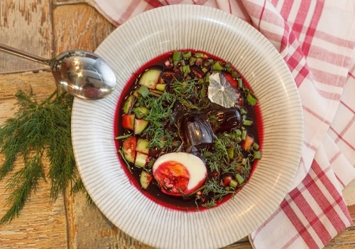 Ботвинья классический рецепт на квасе с рыбой