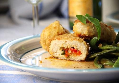 Рыбные зразы с овощами