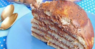 Торт Опавшие листья